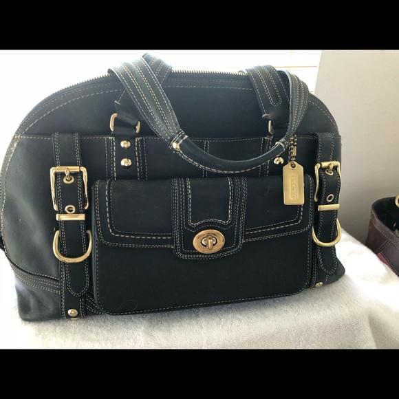 e40ed3558 Coach Bags | Womens Rare Hampton Purse | Poshmark